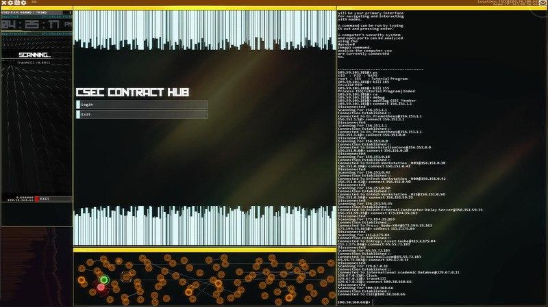 Hacknet [4.049] (2015) PC - Скриншот 1