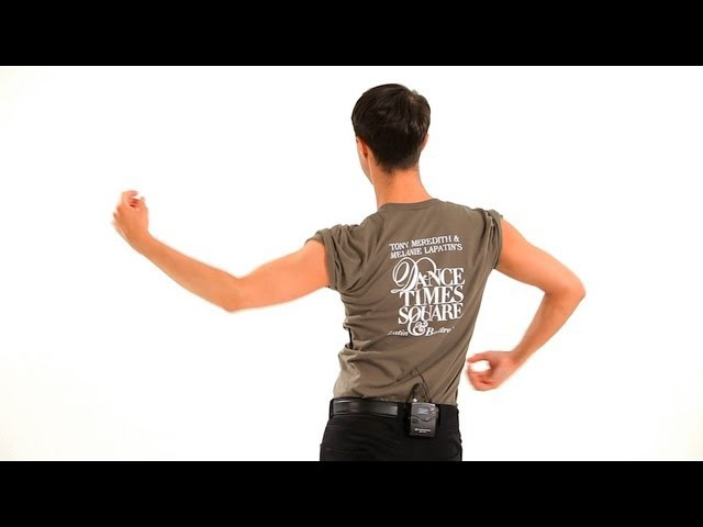 How to Do Arm Styling (Gentlemen) | Cha-Cha Dance