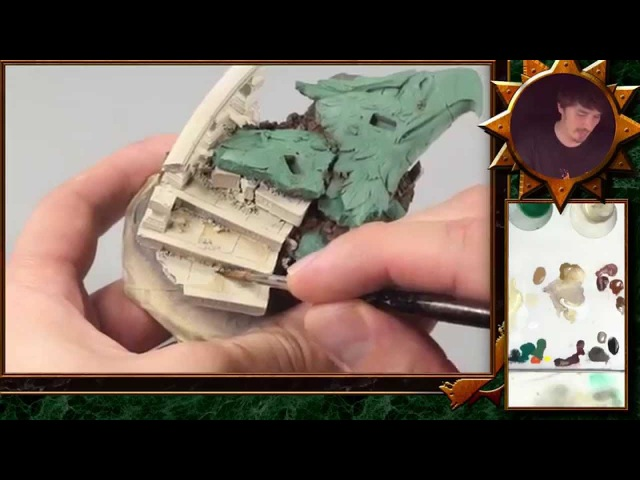 PBCC 002 Horus Part 6: How to Paint White Marble Effects