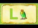La Multipedia de animales. Letra L - el Loro