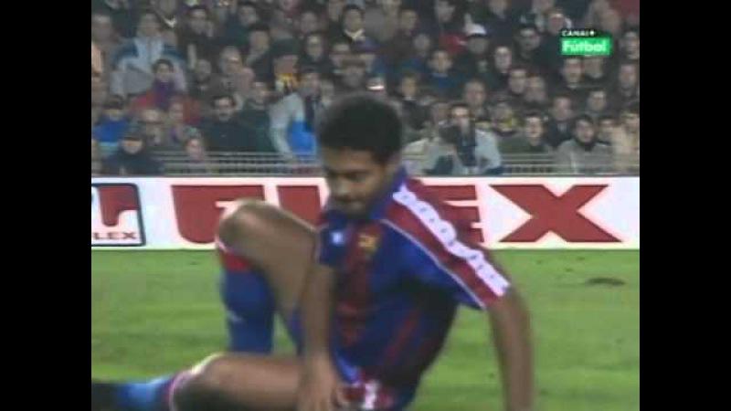 Romário vs. Real Madrid (Camp Nou, La liga 93-94)