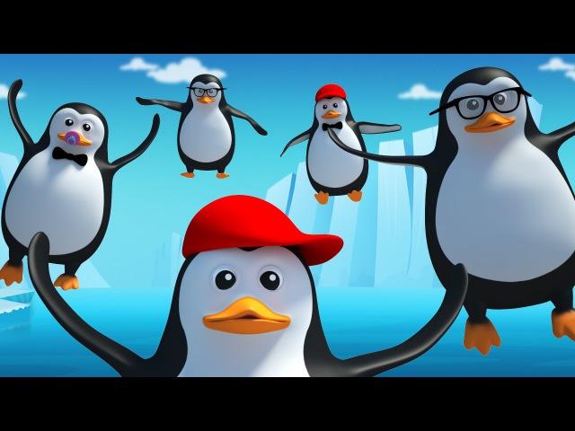 Five little penguins nursery rhymes 3d rhymes kids songs Kids Tv Nursery Rhymes S02EP25