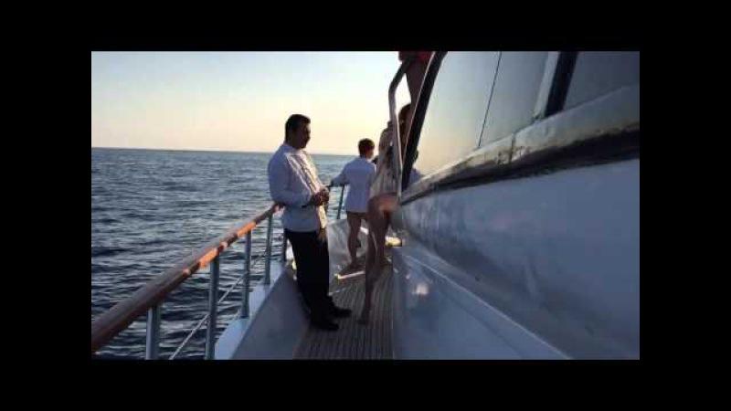 Дискотека на яхті! Єгипет 2015