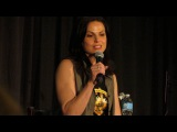 Lana on how she got the part of Regina OUAT NJ CON 2016