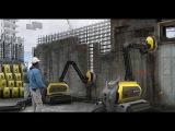 Будущее сегодня - первый в мире робот строитель!