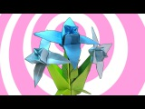 Origami Edelweiss Flower + Stem Instructions