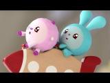 Малышарики - Ракета - обучающие мультфильмы для малышей 0-4 - 4-я серия
