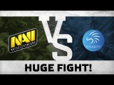 Watch first: Huge fight! by Na`Vi vs Polarity  ESL One Frankfurt 2016