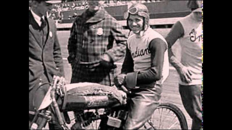 Hall of Famer Shrimp Burns Goes All Out at 1921 Beverly Hills, Calif., Board Track