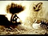 Рисование на песке под музыку Ричарда Маркса