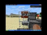 #1. Как сделать мини-пушку в майнкрафт без модов