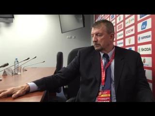 Сергей Гимаев о Кубке Первого канала 2015 и сборной России