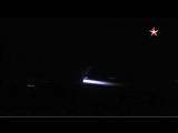 Кадры ночного вылета российских бомбардировщиков. Сирия.