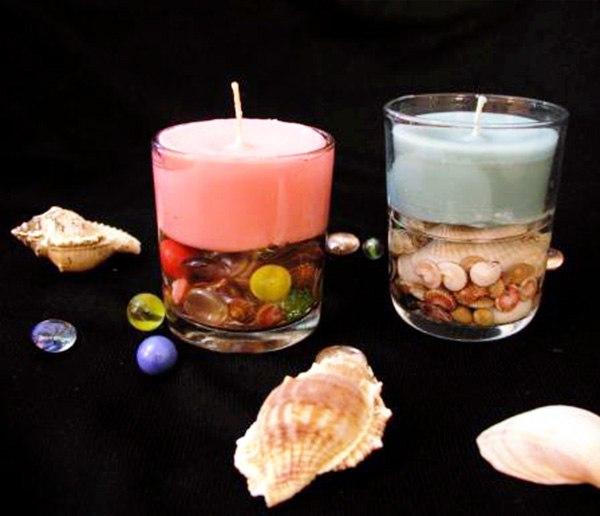 Свечи к Новому Году, сделать своими руками