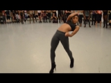 "YANIS MARSHALL & DANIELLE POLANCO'S HEELS CHOREOGRAPHY. ""IS IT A CRIME"" SADE. ALVIN AILEY NYC"
