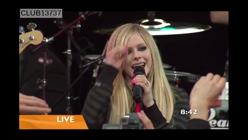 Avril Lavigne - When You're Gone (Live @ Sunrise 08.05.2007)