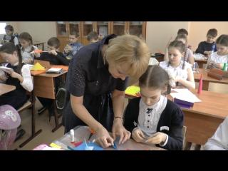 Урок ТРУДА в 4 А классе - клип (Школа №49, г. Мурманск).