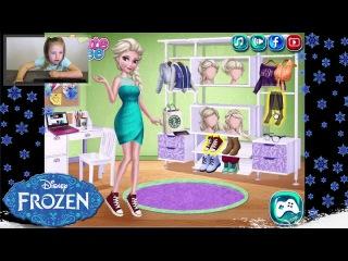 Видео для Детей Эльза Холодное Сердце - Dresses for Elsa Frozen || Milana Plays