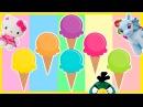 Мороженное с Сюрприз Игрушками Энгри Бердз, Мой Маленький Пони, Марвел Тор, Кунг Фу Панда