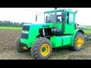 Гусеничный трактор ДТ-75 на колёсном ходу