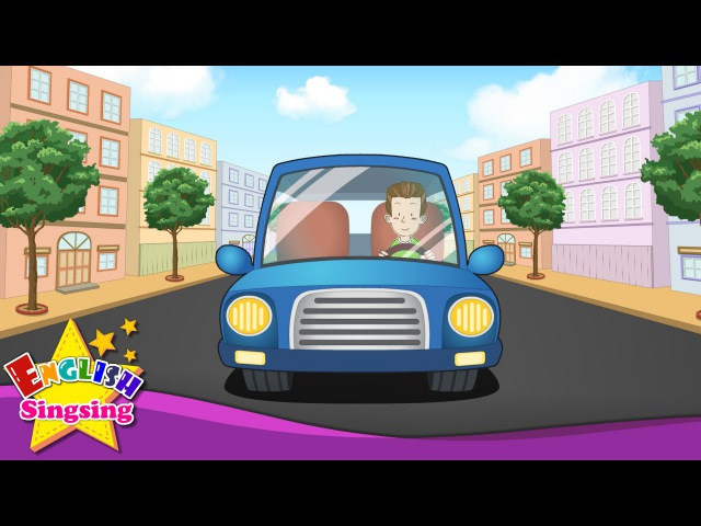 Transportation Song - Vehicle Song - Cars, Boats, Trains, Planes - Kids English Learning