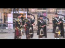 The Highlanders 4SCOTS Pipes and Drums Flashmob