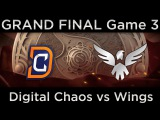 [MUST SEE] Wings vs DC, The International 2016 GRAND FINAL, game 3