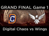 [MUST SEE] Wings vs DC, The International 2016 GRAND FINAL, game 1
