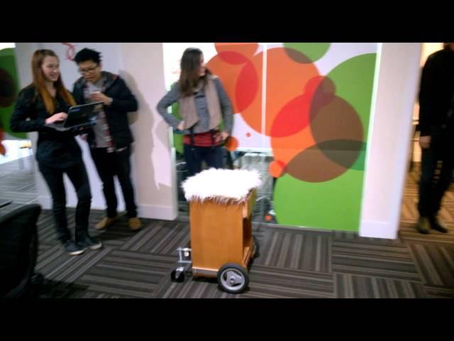 Wheelly the robot