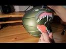 Helmet speedpaint - Posca pens