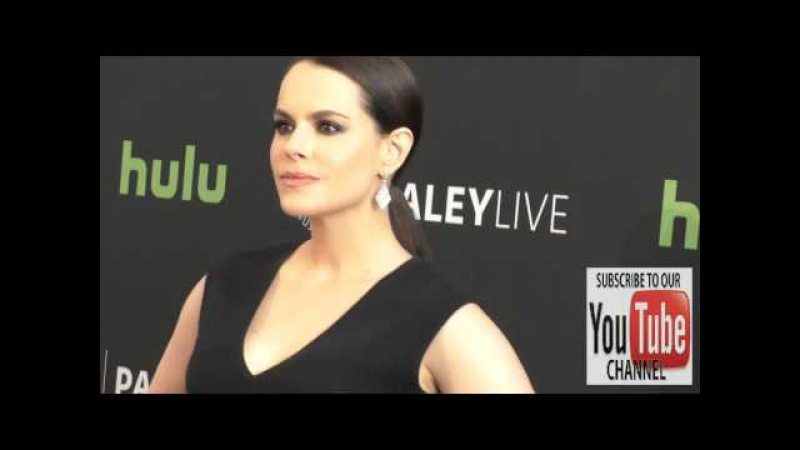 Emily Hampshire at the PaleyLive LA An Evening With 12 Monkeys at The Paley Center for Media in Beve