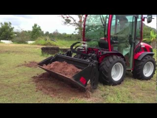 The Agilator - The Ultimate 4-in-1 bucket with Antonio Carraro TTR 4400 HST II Tractor
