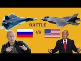 Battle America's F-35 vs Russia's T-50 PAK FA - Fighter Aircraft