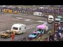 Caravan Demolition Derby @ Warton Stock car club.30th August 2015.