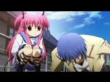 AMV Ангельские ритмы ( Angel Beats ) Прикол по аниме