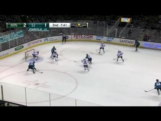 23.01.2016. НХЛ. Сан-Хосе – Миннесота 4:3