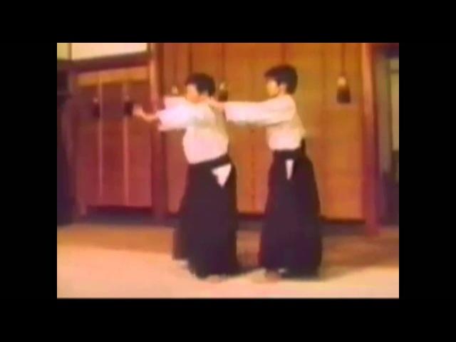 Morihiro Saito demonstrates atemi-waza c. 1975