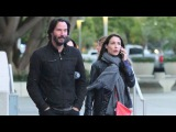 Check Out Keanu Reeves Cute Mystery Brunette At The Who Concert