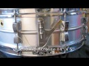 Ten classic snare drums