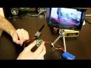 Обзор и подключение Eachine CCD 700TVL и Ts832 eachine Boscam