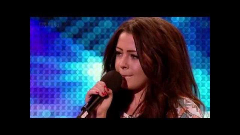 Chelsea Redfern Purple Rain @ Britain's Got Talent 2012 Auditions