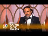Alejandro González Iñárritu Wins Best Director at the 2016 Golden Globes