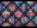 Pineapple Log Cabin quilt video by Shar Jorgenson