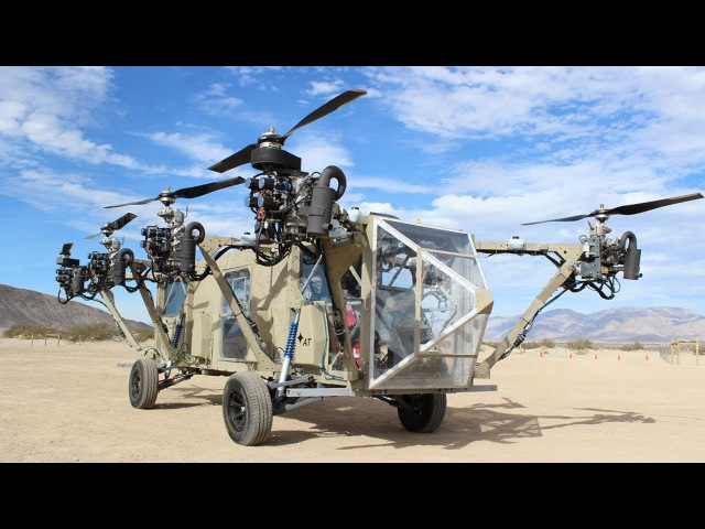 A Flying Truck or Roadable Helicopter?