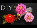 D I Y Kanzashi Chrysanthemum Flower MyInDulzens
