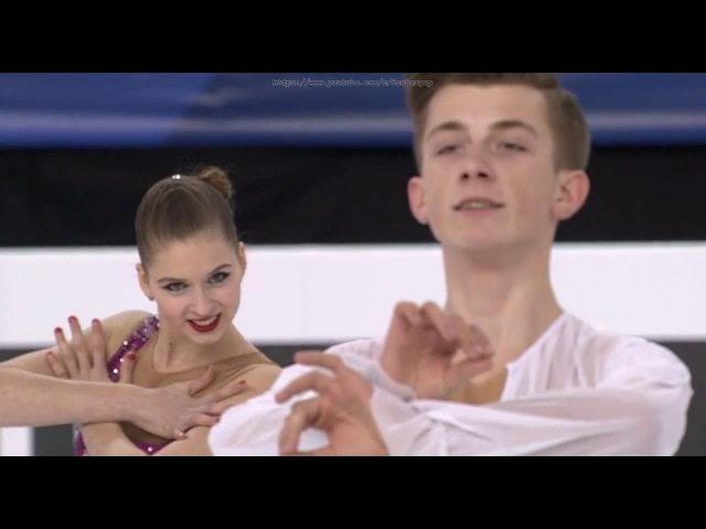 2016 World Junior Championships. Junior Ice Dance - FD. Maria OLEYNIK / Yuri HULITSKI
