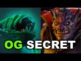 OG vs SECRET - Shanghai Major Dota 2