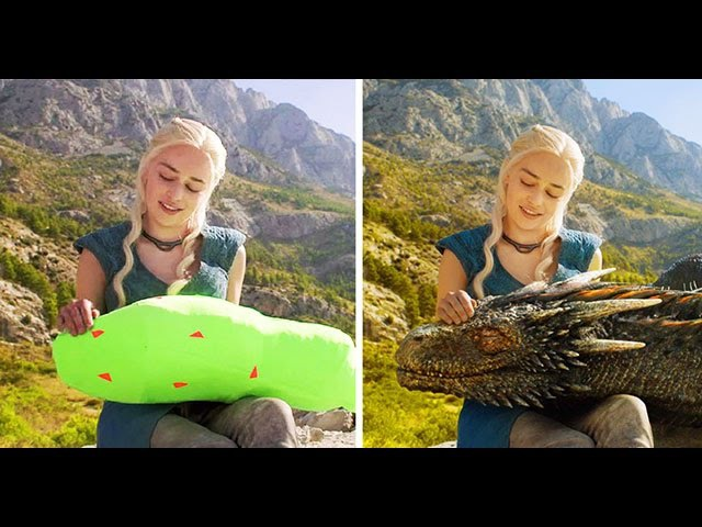 Amazing Before After Hollywood VFX