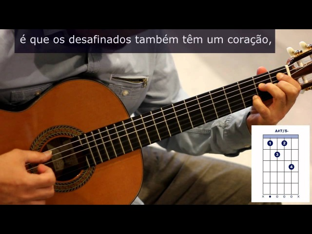 Como tocar Desafinado de Tom Jobim How to play Desafinado