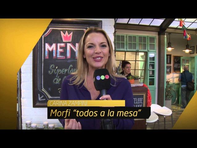 Carina Zampini saluda a canal 7 de jujuy